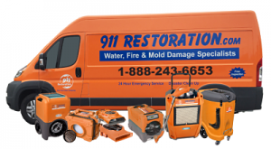 911-Restoration-Van-Disaster-Relief-Water-Damage-Fire-Damage-Mold-Removal
